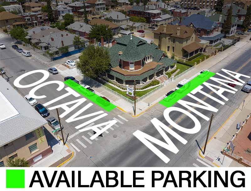 El Paso Parking Map